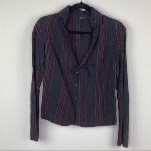 Sisley Italy Women's Long Sleeve Shirt